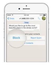 How to block or blacklist contacts in Whatsapp