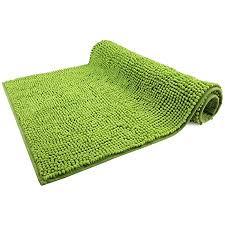 wohndirect badematte grün badezimmerteppich zum set kombinierbar rutschfest waschbar badvorleger wc garnitur badteppich 70 x 120 cm