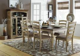 CASUAL COUNTRY SOLID WOOD DINING TABLE CHAIRS ROOM FURNITURE