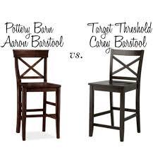 Pottery Barn s Aaron Barstool vs Tar s Carey Barstool