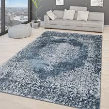 wohnzimmer teppich modernes vintage orientalisches design