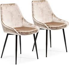 kare design stuhl east side 2er set polsterstuhl in
