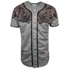 sik silk grey rose baseball jersey siksilk fashion pinterest