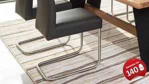schwingstuhl kadira stuhl in kaiman fango anthrazit bis 140kg