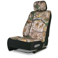 Neoprene Universal Low-Back Camo Seat Cover - 653099, Seat Covers At ...
