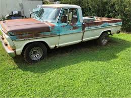 100 68 Ford Truck 19 F100 For Sale ClassicCarscom CC11529