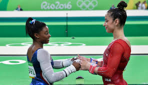 Aly Raisman Floor Routine Olympics 2016 by Simone Biles Is Olympic All Around Champion Silver For Aly