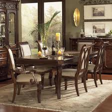 Flexsteel Wynwood Collection Granada Dining Room Set With Upholstered Chairs