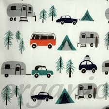 New Circa 60 By Birch Fabrics Organic Happy Campers This Would Be A