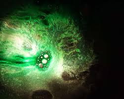 Abstract Art Dynamic Fantastic Surreal Green