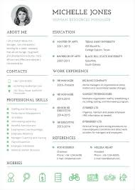 Download Resume Templates Word 2007 Free Template Professional Hr