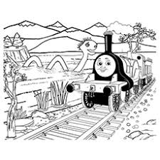 Thomas The Train Printable Coloring Page Of Emily