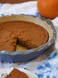 Pumpkin Pie Without Crust And Sugar by Easy Crustless Pumpkin Pie U2022 The Fit Cookie