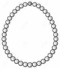 58 Luxury Necklace Black and White Clipart Wedding Idea
