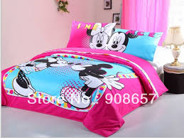 Minnie Mouse Bedding Set Twin by Minnie Mouse 4 Piece Bedding Set Tokida For