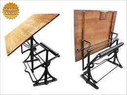 bureau a dessin ancienne table à dessin d architecte