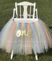 65119242 Unicorn High Chair Tutu, Unicorn First Birthday, Unicorn ... Chair Tulle Table Skirt Wedding Decorative High Chair Decor Baby Originals Group 1st Birthday Frozen Saan Bibili Aytai New Tutu Pink Blue Handmade Decorations For Girl Kit Includes Princess I Am One Highchair Banner With Cheap Find Deals On Line Party 6xhoneycomb Tue Bal Romantic 276x138 Babys Jerusalem House