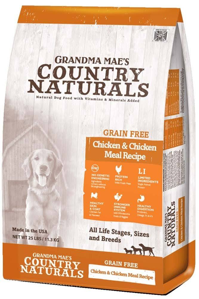 Grandma Mae S Country Nat Country Naturals Grain Free Limited Ingredient Dog Chicken 4 lb