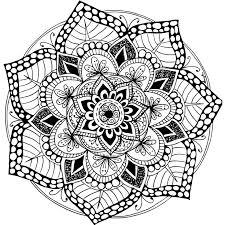 A Free Printable Mandala Coloring Page 100 More Available On Mondaymandala
