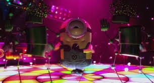dancing minion for that on top of the world feeling