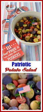 Feel Free To Pass This Patriotic Potato Salad At Your 4th Of July ... Texas Garden The Fervent Gardener How Many Potatoes Per Plant Having A Good Harvest Dec 2017 To Grow Your Own Backyard 17 Best Images About Big Green Egg On Pinterest Pork Grilled Red Party Tuned Up Want Organic In Just 35 Vegan Mashed Potatoes Triple Mash Mashed Pumpkin Cinnamon Bacon Sweet Gardening Seminole Pumpkins And Sweet From My Backyard Potato Salad Recipe Taste Of Home