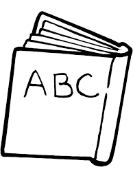 An ABC Book For First Day Of School Coloring Page
