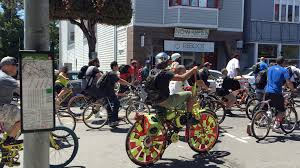 Parade Float Supplies Now by Marshawn Lynch Leads Massive Oakland Bike Parade Sfgate