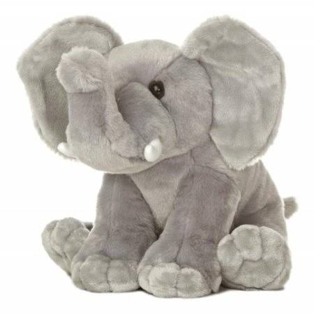 Aurora World Destination Nation Elephant Plush - 9in