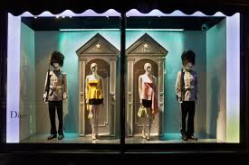 Dior Exhibition Window Display 2013 At Harrods