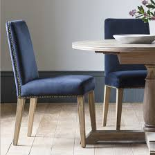 Midnight Blue Velvet Studded Dining Chair - Set Of Two Small Round Ding Table In Black With 4 Teal Blue Velvet Chairs Rhode Island Kaylee Remarkable Navy Set Tufted Uptown Chair Silver Leaf Including Modern Lovely Pink Upholstered Gold Room Metal Frame Of 2 Extraordinary Covers Slipcovers A Rustic Elegant Thanksgiving Eclectic Living Room Home White Extendable 6 Vivienne Jenna Belinda Ding Chair Navy Khamila Fniture Store Kallekoponnet Kitchen Design Tiffany Slate Amusing