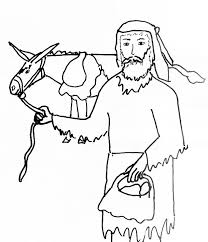 Joshua And Gibeonites Coloring Page