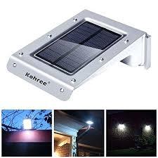 outdoor garage lights motion sensor and led bright solar powered