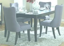 Furniture Cloth Dining Room Chairs Inspirational Sets With Blue Grey Fabric Upholstered