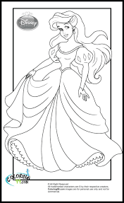 Free Mermaid Coloring Sheets Beautiful Princess Pages In Book Barbie To Print Online Large Size