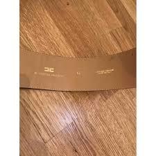 ELISABETTA FRANCHI Leather Belt