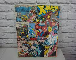 Superhero Comic Wall Decor by Comic Book Decor Etsy