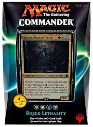 Magic The Gathering Premade Decks Ebay breed lethality mtg pre con deck atraxa praetor u0027s voice foil
