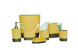 Yellow Grey Bathroom Ideas by Black And Yellow Bathroom Accessories House Design Ideas