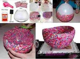 Diy Simple Handicraft Ideas Creative Easy Crafts Using Balloons Stylish Rhscrapcycleinfo Craft For