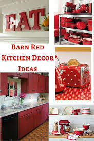 Apple Kitchen Decor Ideas by Best 25 Red Kitchen Appliances Ideas On Pinterest Red