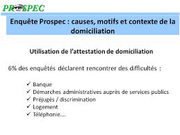 attestation domiciliation si e social la domiciliation administrative en poitou charentes ppt télécharger