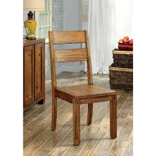100 Dining Room Chairs With Oak Accents Frontier Dark Transitional Style Side Chair 2PackCM3603SC