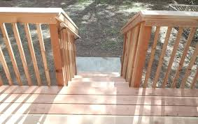 Porch Steps Handrail pleted posite Deck Stairs Deck Stairs