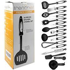 ustensiles de cuisine discount frenchief 24 ustensiles de cuisine matériel de cuisine pas cher et