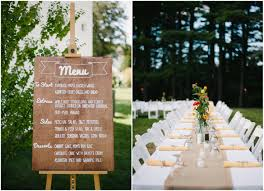 Backyard Wedding Food Ideas