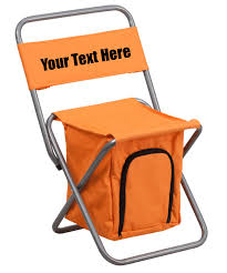 Custom Personalized Folding Camping Chair With Insulated Storage ... 22x28inch Outdoor Folding Camping Chair Canvas Recliners American Lweight Durable And Compact Burnt Orange Gray Campsite Products Pinterest Rainbow Modernica Props Lixada Portable Ultralight Adjustable Height Chairs Mec Stool Seat For Fishing Festival Amazoncom Alpha Camp Black Beach Captains Highlander Traquair Camp Sale Online Ebay