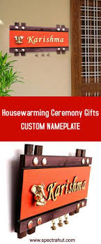 Handworkz Beautiful Customized Name Plate