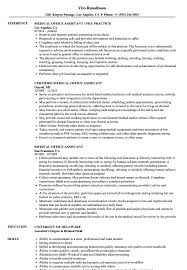 Medical Office Assistant Resume Samples | Velvet Jobs Career Objectives For Medical Assistant Focusmrisoxfordco Cover Letter Entry Level Medical Assistant Resume Work Skills New Examples Front Office Receptionist Example Sample Clinical Resume Luxury Certified Personal Best Objective Kinalico 6 Example Ismbauer Samples Masters Degree Valid 10 Examples Of Beautiful And Abilities A