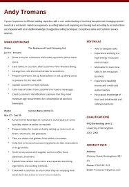 Resume For Waiter Restaurant Waiter Resume Best Of Restaurant Waiter