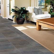 Groutable Peel And Stick Tile Home Depot by 18 In X 18 In Coal Oxidized Metal Peel And Stick Vinyl Tile 27